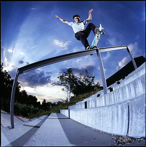 Daryl Angel - Fakie 5-0